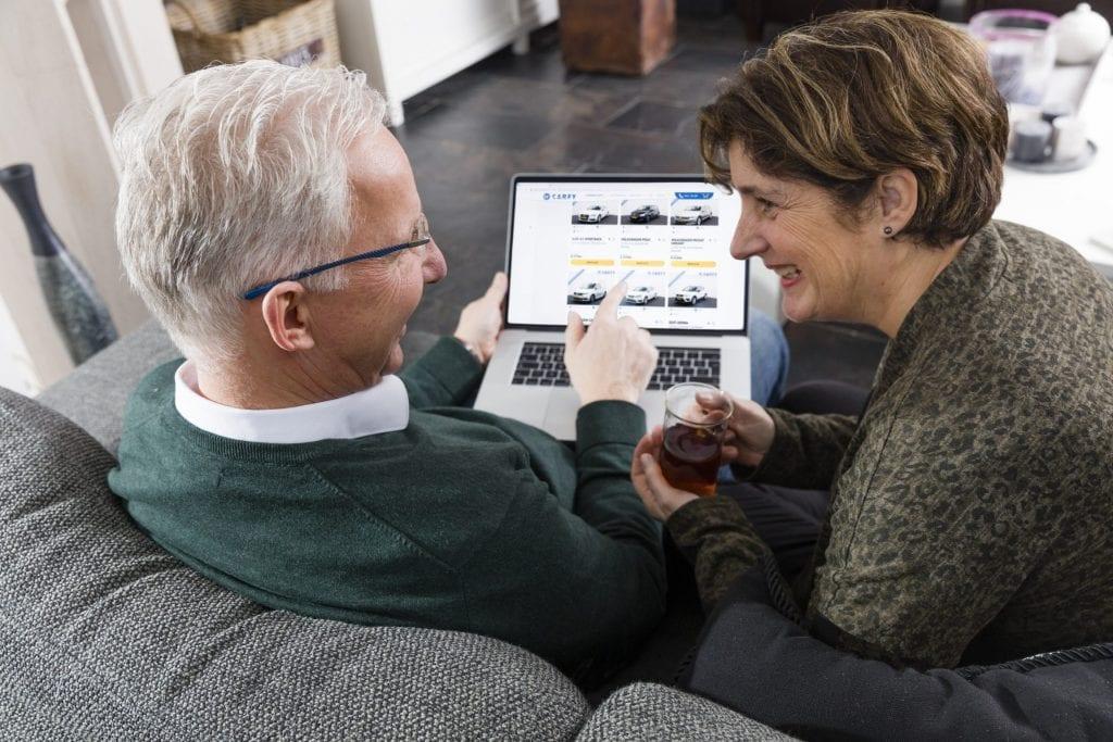 online auto uitzoek