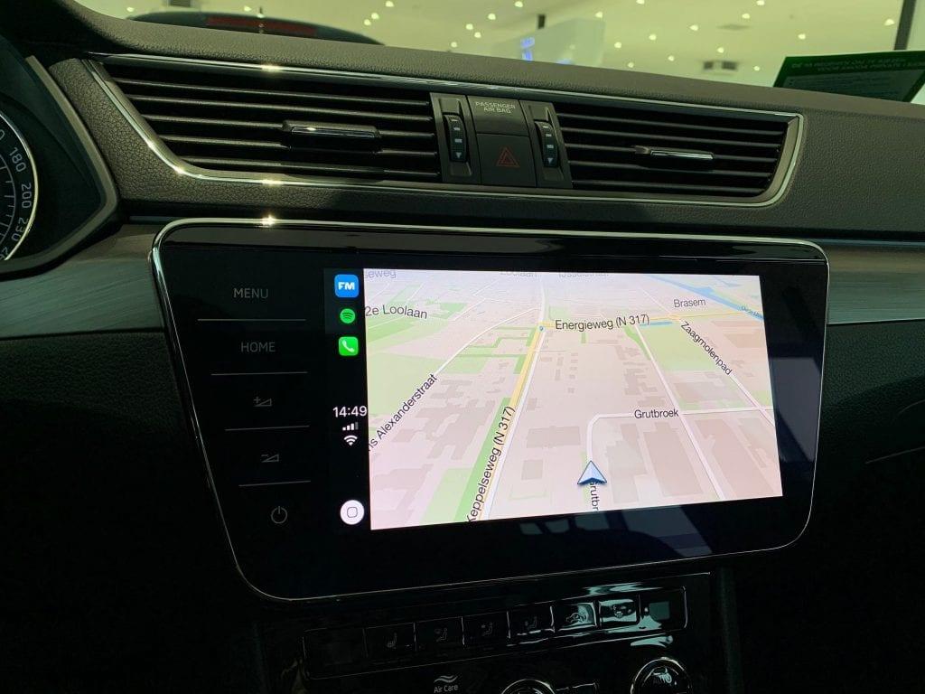 Tegenwoordig kunt u Flitsmeister ook op apple carplay gebruiken tijdens het rijden.
